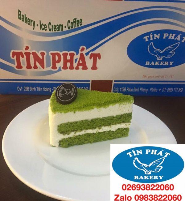 Bánh Kem Tiramisu Trà Xanh Miếng 02