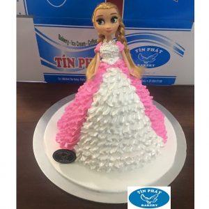 Bánh Kem Búp Bê Elsa 02