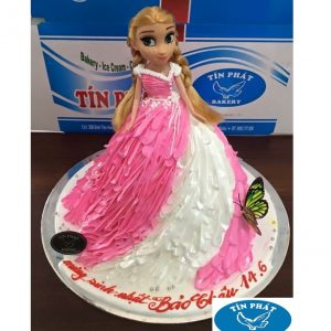 Bánh Kem Búp Bê Elsa 07