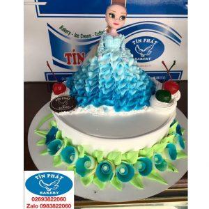 Bánh Kem Búp Bê Elsa 15