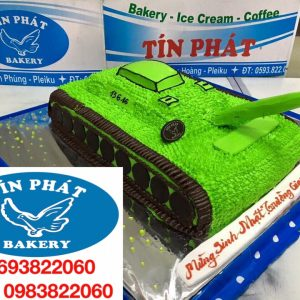 Bánh Kem Xe Tank 03