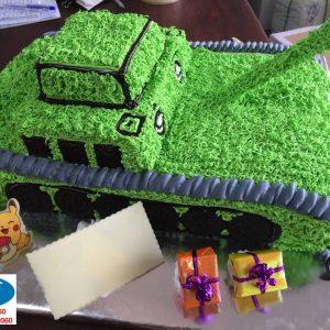 Bánh Kem Xe Tank 23