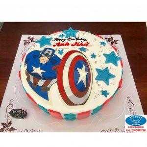 Bánh kem Captain American 06