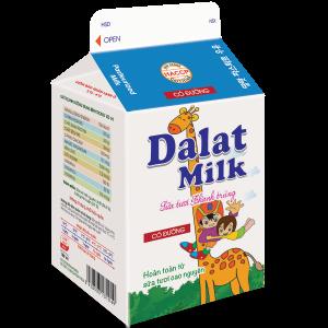 Sữa Tươi Nguyên Chất Thanh Trùng Có Đường 180 ml