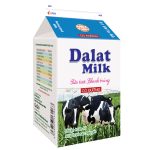 Sữa Tươi Nguyên Chất Thanh Trùng Có Đường 450 ml