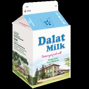 Sữa Tươi Nguyên Chất Thanh Trùng Không Đường 180 ml