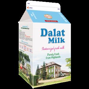 Sữa Tươi Nguyên Chất Thanh Trùng Không Đường 450ml