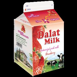 Sữa Tươi Thanh Trùng – Hương Dâu 180 ml
