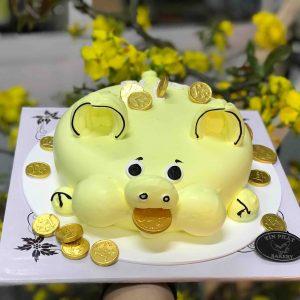 Bánh Kem Heo Vàng 04