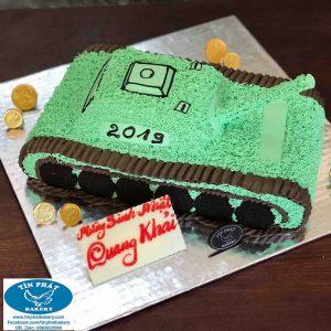Bánh Kem Xe Tank 35